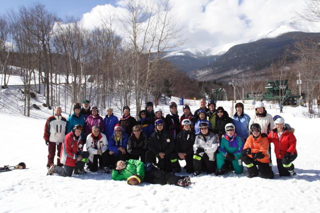 Group shot at Wildcat Mountain, New Hampshire